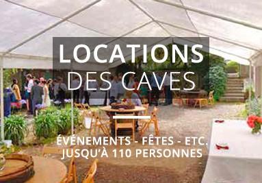 Locations des caves